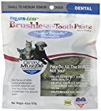 ARK Naturals Breathless Brushless Toothpaste Gray Muzzle Friendly Chewable 4.1z