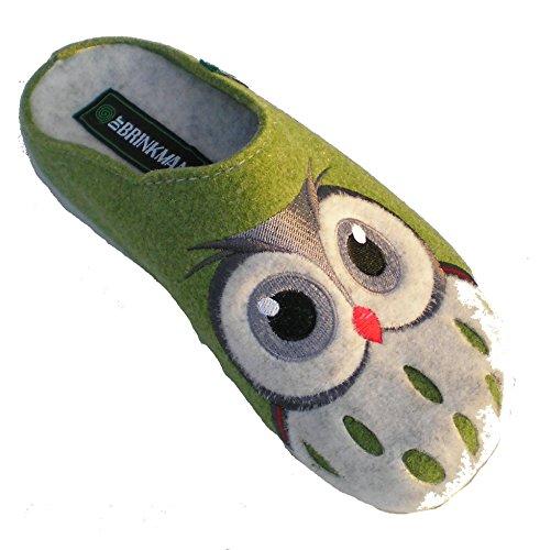 slippers 320455 donna Grün Brinkmann Dr qRZBwZgn
