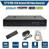 JOOAN 7216N HD 16CH NVR CCTV Grabador de Video Grabador de Vigilancia para Cámara IP
