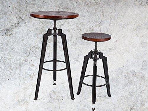 Diwhy girevole da bar in legno da cucina set di mobili da pranzo