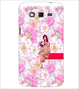 PrintDhaba Sweet Girl D-2962 Back Case Cover for SAMSUNG GALAXY GRAND 2 (Multi-Coloured)