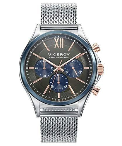 7c77a5541ad5 Viceroy Reloj Cronógrafo para Hombre de Cuarzo con Correa en Acero  Inoxidable 471111-53