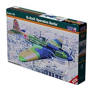 "MisterCraft MCC28 - Maqueta de avión a Escala1:72 ""IL-2M3Sturmovik Operación Berlín"