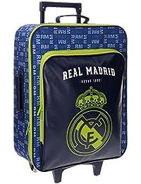 Real Madrid 5649052 Basic Equipaje Infantil, 52 cm, 26 litros