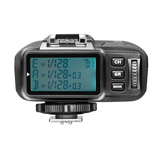 Neewer TTL 2.4G drahtlos Blitz Auslöser Transmitter für FUJIFILM spiegellose Digitalkamera und NW400F TT350F NW600BM AD600 AD600M AD360II AD200 NW850II V850II TT600 Blitze (N1T-F)