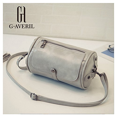 G-AVERIL, Borsa a spalla donna nero Black Grey