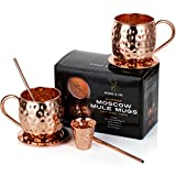 Moscow Mule Kupferbecher: 2er Set