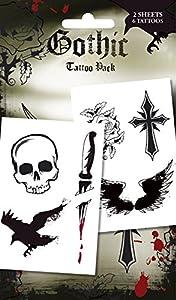 Gothic Temporary Tattoos (tatuajes temporales)