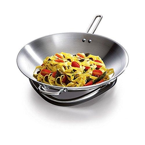 Aeg fusion wok accesorio de hogar acero inoxidable for Wok cuatro cocinas granollers