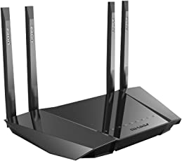 LB Link BL-W1210M 1200Mbps Dual-Band 11AC Wireless Router Router  (Black) 4 Antennas