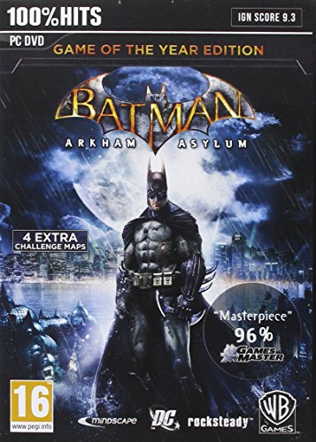 Preisvergleich Produktbild Pccd Batman : Arkham Asylum - Game Of The Year (Eu)