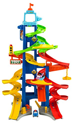 Fisher Price Push & Pull Along Fisher Price Little People City Skyway