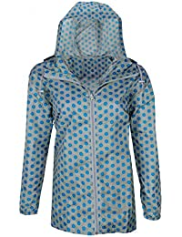 Angie Festival Printed Kagool Raincoat Jacket