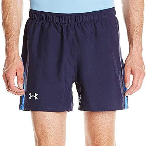 Under Armour Herren Running - Kurze hose Launch 5 Zoll Woven Shorts Midnight Navy, XL (Shorts Woven Jordan)