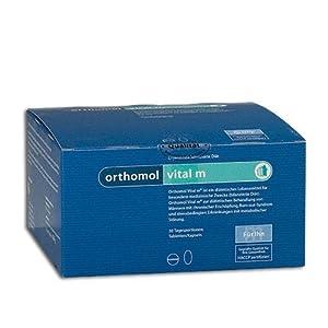 Orthomol vital m 30er Tabletten & Kapseln – Vitamine bei Müdigkeit & Erschöpfung – Nahrungsergänzungsmittel für Männer