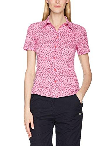 CMP Damen 3T55976 Outdoor Bluse, Rose-Ibisco-Bianco, D46 Preisvergleich