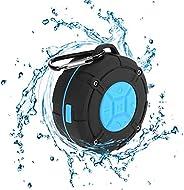 Shower Speaker Waterproof IPX7 Bluetooth Speaker with Suction Cup & Hook - Shower Radios, Waterproof Speak