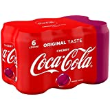 Coca-Cola Cherry Canettes 6 x 33 cl