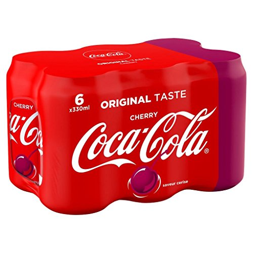 Coca-Cola Cherry Canettes 6 x 33 cl