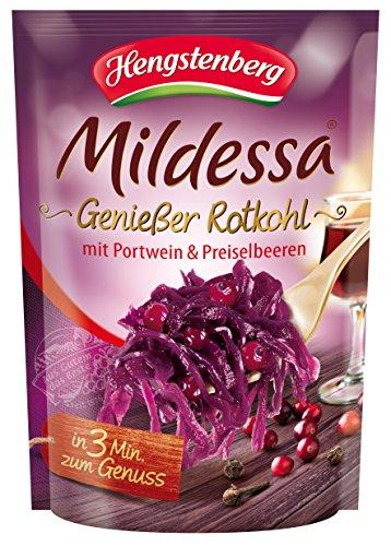 Hengstenberg Genießer Rotkohl mit Portwein und Preiselbeeren, 6er Pack (6 x 400 g)