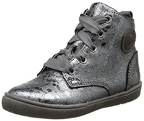 Noël Joce, Sneakers Hautes Filles, Gris (118 Anthracite), 28 EU