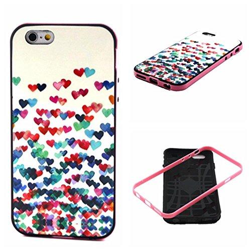 IPhone 6 / 6S (4.7 inch) Coque, MOONCASE Coloré Motif TPU Silicone Gel Étui Housse Protection Shell Cover Case Pour IPhone 6 / 6S (4.7 inch) YT14 YT29