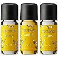 Duftöl Set - So Sweet- feiner Raumduft - Kokosnuss, Vanille, Honig - Aromaöl für Duftlampe und Diffuser von miaono preisvergleich bei billige-tabletten.eu