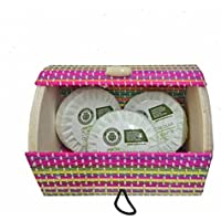 Pastillas de jabón con baúl mini de colores (Pack 24 ud)
