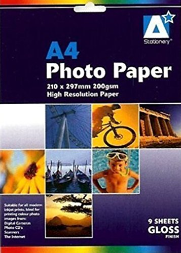 Preisvergleich Produktbild Fotopapier: A4 glänzend