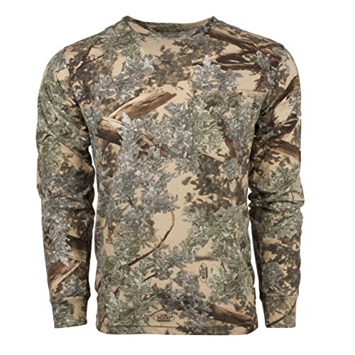 King 's Camo Desert Shadow Herren Baumwolle Long Sleeve Shirt 4X L Rosa L/s Camo