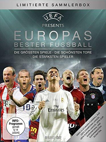 fussball dvd UEFA präsentiert: EUROPAS BESTER FUSSBALL - Die größten Spiele - Die schönsten Tore - Die stärksten Spieler (5-DVD-Box)