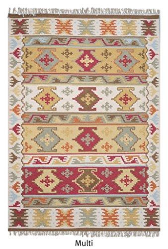 La Repubblica Tappeto fatto a mano Tappeto in lana Multi Navajo (230x 160cm), 1pezzo