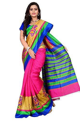 sarees (Bhagalpuri silk sarees silk sarees kanchipuram silk cotton sarees silk sarees for women silk sarees for women party wear sarees for women latest design Women\'s Cotton Silk Saree sarees below