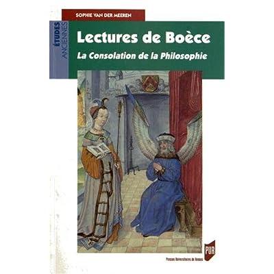 LecturesdeBoèce : Laconsolationdelaphilosophie