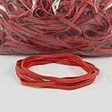 Anelli Di Gomma Rosso   estensibile   diverso diametro   sacchetto 1kg   elastici   bilancio elastici, per legare, fissare o fai da te/