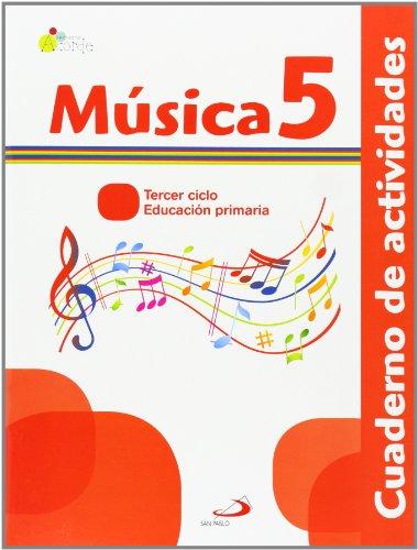 Proyecto Acorde, música, 5 Educación Primaria, 3 ciclo. Cuaderno de actividades