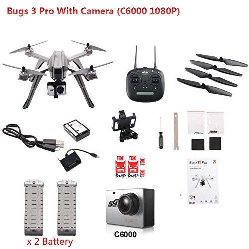 MJX Bugs 3 Pro B3PRO Drones Quadcopters Brushless Control remoto 1080P 5G droni WIFI