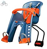 Polisport Bilby Junior FF Fahrrad Kindersitz vorne Blue Orange