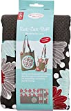 Ruck-Zuck-Stoff Wendetasche Laura: Stoff mit Schnittmuster, Bügelvlies und Anleitung für eine stylische Wendetasche