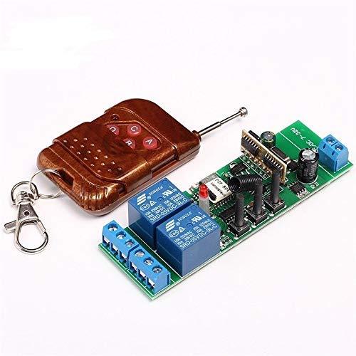 MHCOZY WiFi Wireless eWelink app Modulo relè di commutazione a interruttore remoto, con 433Mhz RF Remote e ABS Shell, compatibile con Alexa, Echo e Google IFTTT