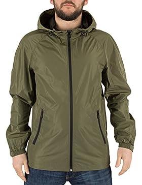 Only & Sons Hombre Navarro luz de malla de la chaqueta, Verde