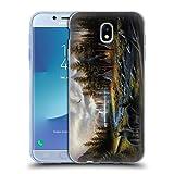 Head Case Designs Offizielle Chuck Black Wild Amerika Ladschaft Soft Gel Hülle für Samsung Galaxy J7 2017 / Pro