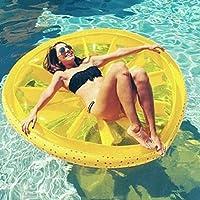 Limón Flotante Fila Piscina Flotador Playa Limón Natación Juguete Fruta Slice Flotador Floatie Aire Colchón Swim Ring Piscina Inflable Juguete
