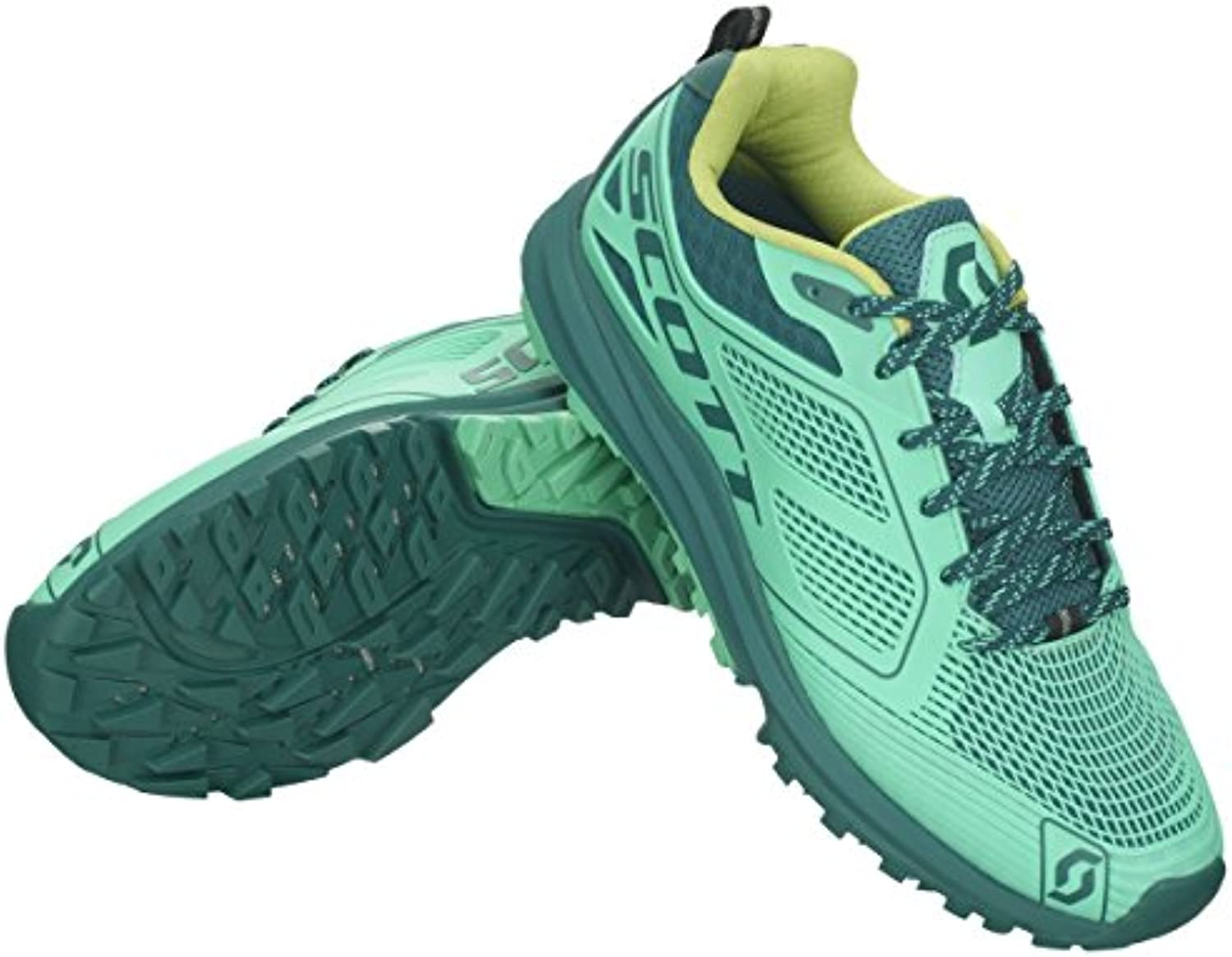 Scott running Zapatilla ws kinabalu enduro green 7.5 usa