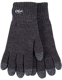Original 2stoned Touchscreen Handschuhe Anthrazit gefüttert und ungefüttert in 3 Größen