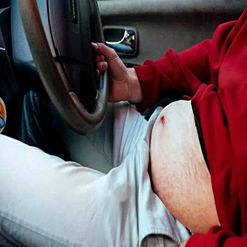 Dad Bag Fanny Belly Pacchetti di vita, Gindoly Uomini Divertente Cintura Bumbag Pocket Borsa regolabile Cintura Anca Vita Per Viaggiare Corsa, Escursionismo, Arrampicata, Sport Jogging (Stile 01) Stile 01