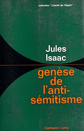 Genèse de l'antisémitisme par Jules Isaac