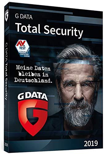 G DATA Total Security 2019 für 1 Windows-PC / 1 Jahr / Erstklassiger Rundumschutz durch Firewall & Antivirus / Trust in German Sicherheit