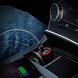 Anker 4.8A/24W 2-Port Rapid USB Car Charger with PowerIQ Technology for iPhone, iPad Air 2, Samsung Galaxy S6/S6 Edge, Nexus, HTC M9, Motorola, Nokia and More (Black) Bild 7