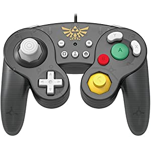 Hori Controller For Nintendo Switch Game Cube GC Style Zelda Version